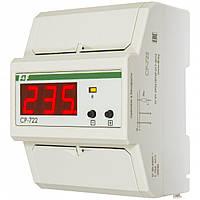 Реле напряжения CP-722 50-450В 75А 4,5S 1-фазное F&F