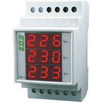 Електронний індикатор напруги DMV-3 Тгие RMS F&F