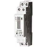 Счетчик электроенергии 1-фазный LЕ-01D 1п