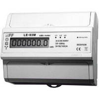 Счетчик электроэнергии 3-фазный LЕ-03M с MODBUS RS-485