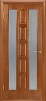 Дверь  Квадро ПО 70 цвет Каштан