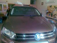 Антигравийная защита кузова VW Polo