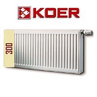 Стальной радиатор 22 т 300*400 Koer (Чехия)