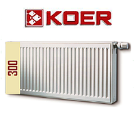 Стальной радиатор 22 т 300*500 Koer (Чехия)