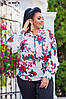 Блузка женская шифоновая АК 0461 гл, фото 5