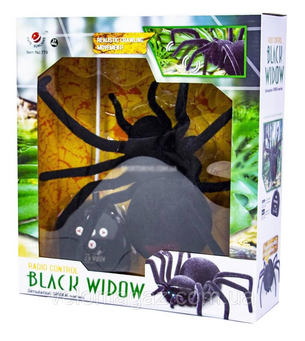 """Павук """"Чорна Вдова 779"""" 30 см на радіоуправлінні"""