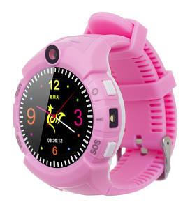 Детские часы с GPS трекером ERGO GPS Tracker Color C010 -(Pink)