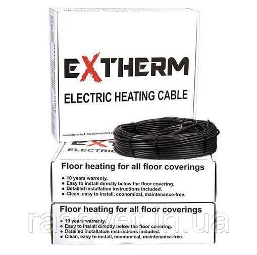 Extherm двужильный кабель для теплого пола ETC ECO 20-500