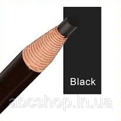 Карандаш, с ниткой самозатачивающийся ( Вlack/черный)