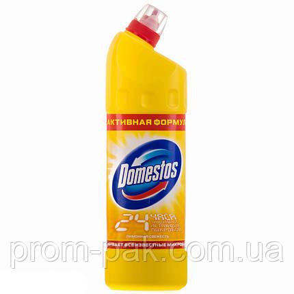 Чистящее средство Domestos 1000 мл лимонная свежесть, фото 2