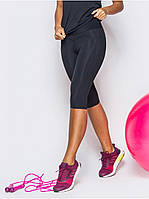 Бриджи спортивные женские Go Fitness black