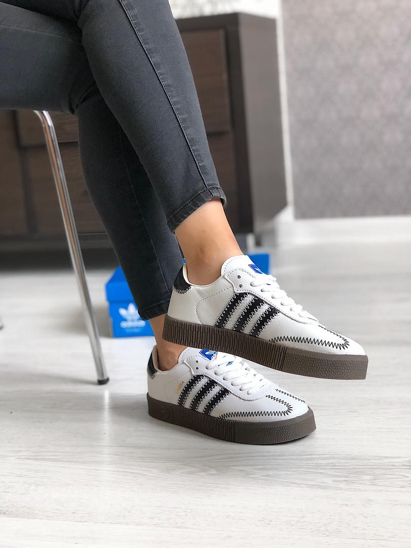 Кроссовки женские Adidas Samba. ТОП КАЧЕСТВО !!! Реплика