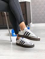 Кроссовки женские Adidas Samba. ТОП КАЧЕСТВО !!! Реплика, фото 1