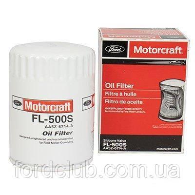 Фильтр масляный Ford Edge USA 3.5; Motorcraft FL500S