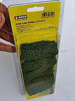 """NOCH 07301 - Набор листвы  """" темно зеленая """"  для создания ланшафтных дизайнов, масштаба  G, 0, H0, TT, N, Z"""