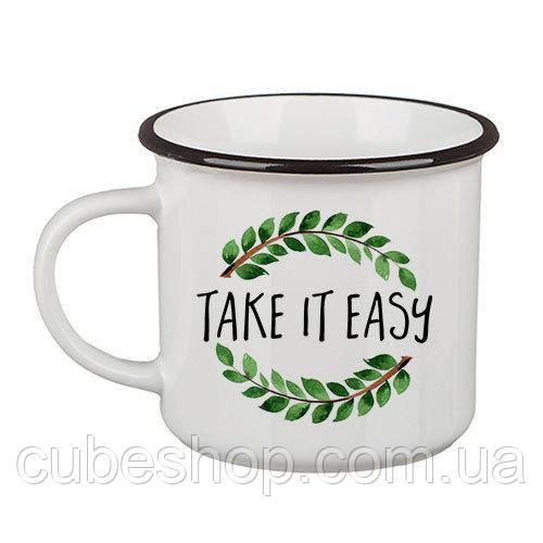 Кружка Camper «Take it easy» (250 мл)