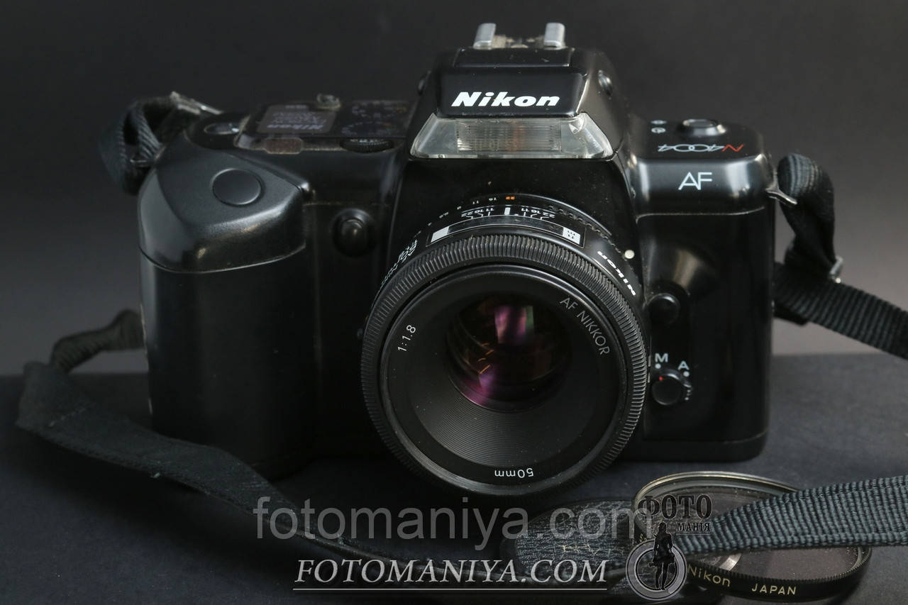 Nikon AF N4004 kit AF Nikkor 50mm f1.8