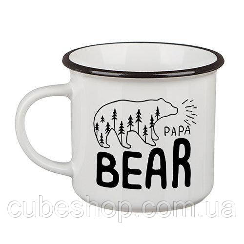 Кружка Camper «Papa bear» (250 мл)