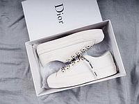 "Кеды Christian Dior Walk'N'Dior Low-Top ""Белые"""