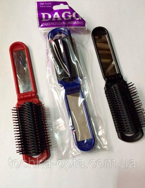 Массажная расческа для волос Dagg 8592 складная