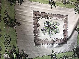 Скатерть на тканной основе  (012)  Размер 1.5*1.2 м
