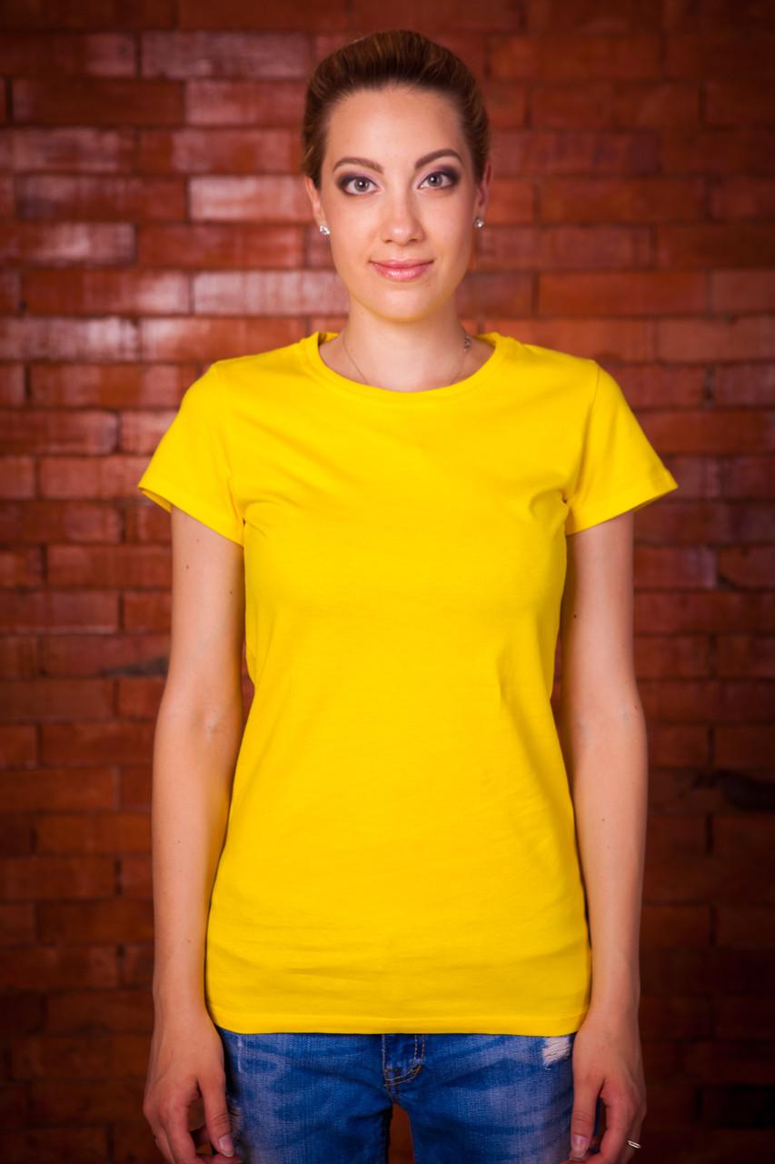 Bono Футболка женская желтая 000133