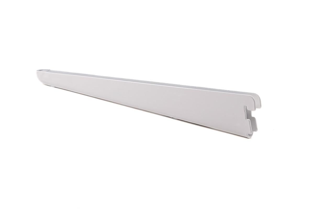Кронштейн к стеновым стойкам. Гардеробная система. Консольная система. Белый 320 мм Larvij L9004WH