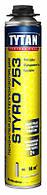 Пена-клей профессиональная Tytan Professional O2 Styro 753 (750 мл)