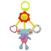 Мягкая подвеска - Слонёнок и солнышко Happy Monkey
