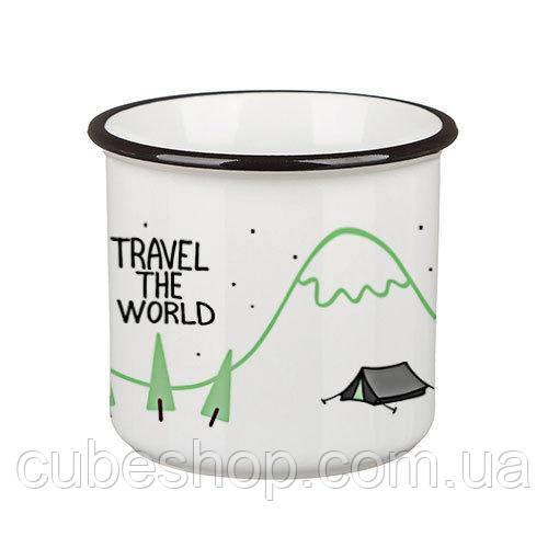 Кружка Camper «Travel the world» (250 мл)