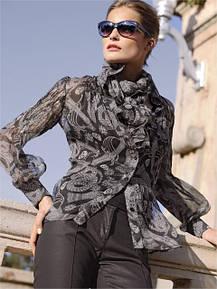 Блузки, рубашки, футболки, туники, кофточки от 48 размера