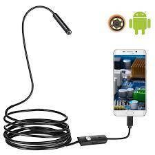 Эндоскоп HD водонепроницаемый - Видеоскоп с камерой LED-подсветкой 1 до 10 метров USB
