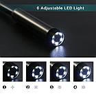 Эндоскоп HD водонепроницаемый - Видеоскоп с камерой LED-подсветкой 1 до 10 метров USB, фото 2