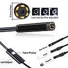 Эндоскоп HD водонепроницаемый - Видеоскоп с камерой LED-подсветкой 1 до 10 метров USB, фото 4