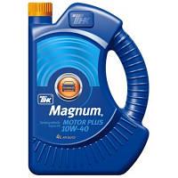 Масло моторное полусинтетика тнк magnum motor plus 10w-40 4л