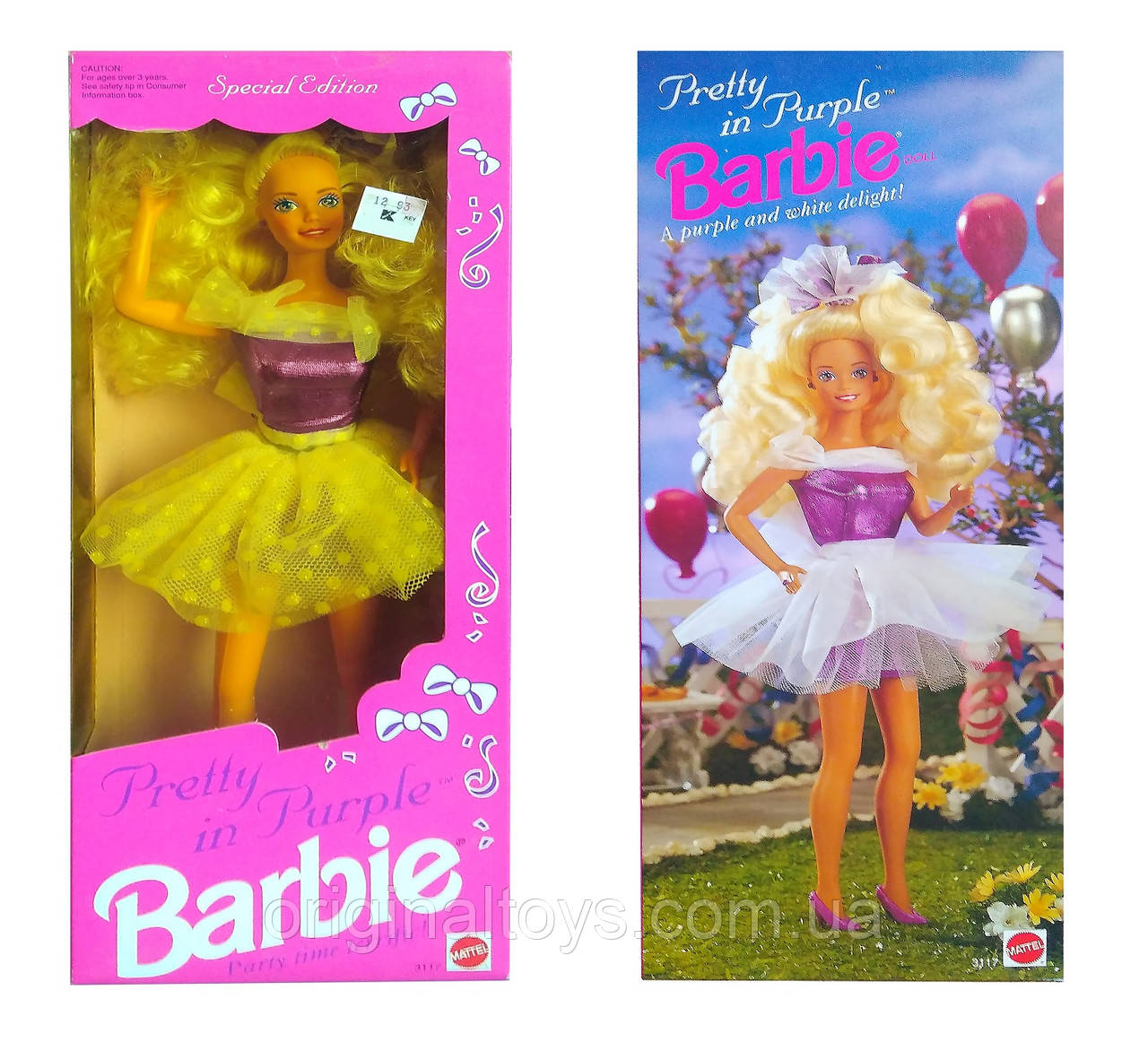 Коллекционная кукла Барби Barbie Pretty in Purple 1992 Mattel 3117