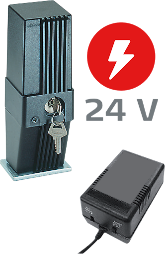 BFT EBP 24 — электрозамок 24V с трансформатором для ZARA, THALIA