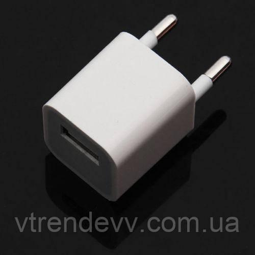 Сетевой адаптер зарядное устройство USB Сube 1A EU