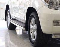 Защита оригинальных порогов Toyota land cruiser 200 (Тойота Ленд крузер 2006+)