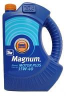 Масло моторное минеральное ТНК Magnum Motor Plus 15W-40 4л