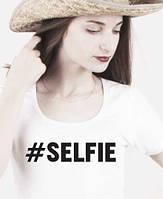 Футболка selfie разные цвета, фото 1