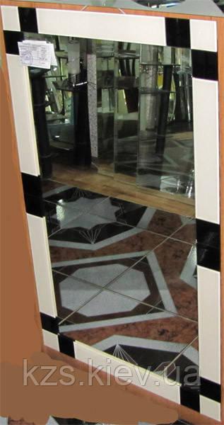 Зеркало с декоративным украшением арт.02.8.89
