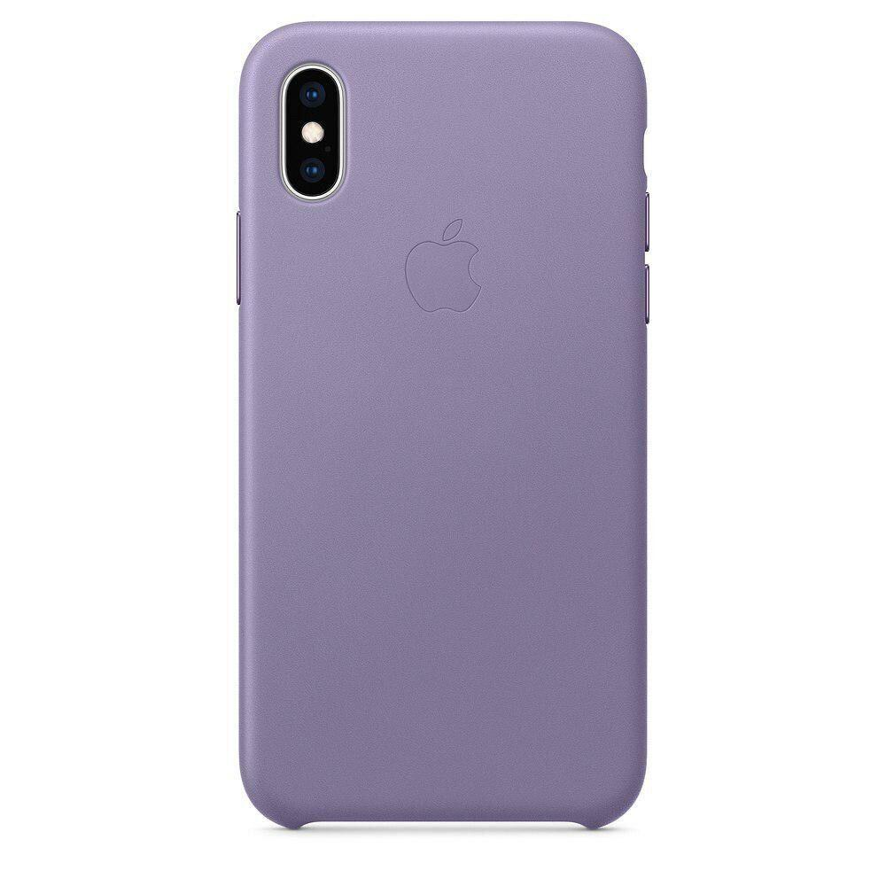 Шкіряний чохол Apple Leather Case White для iPhone X/XS