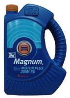 Масло моторное минеральное  ТНК Magnum Motor Plus 20W-50 4л.
