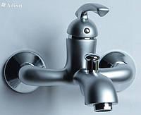Смеситель для ванной AMETIST АМ В23Y  Сатин