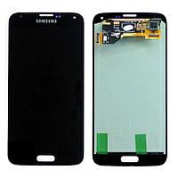Samsung GALAXY S5 I9600 black blue  LCD, модуль, дисплей с сенсорным экраном