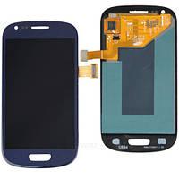 Samsung Galaxy SIII Mini I8190 blue  LCD, модуль, дисплей с сенсорным экраном