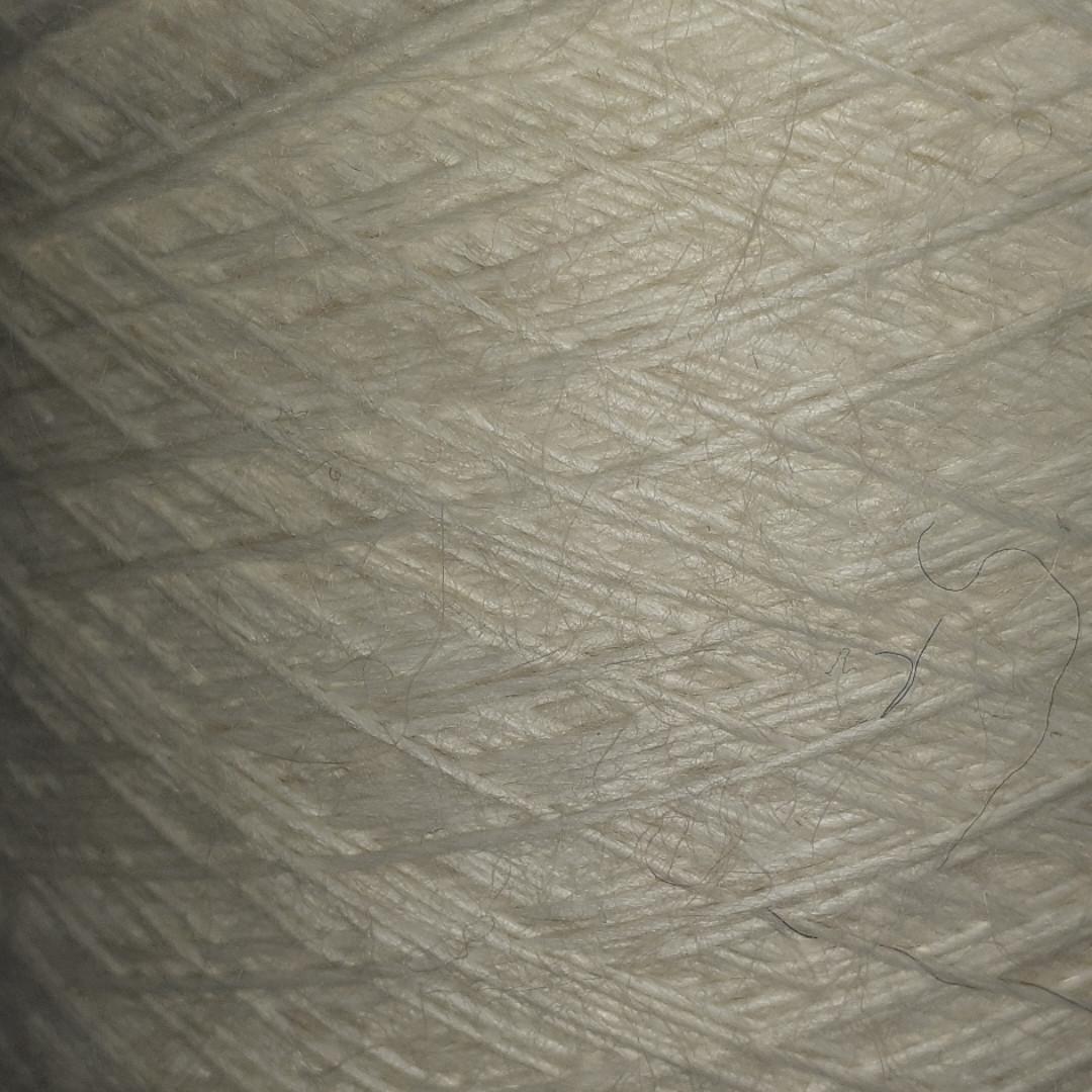 20% альпака, 20% шерсть, 60% акрил SAMPLE EKRU - бобинная пряжа для машинного и ручного вязания