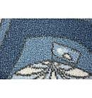 Ковер Лущув STREET 200x100 см голубой прямоугольный (X584), фото 5