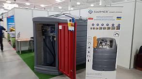 Двухслойный полиэтиленовый резервуар для ДТ МиниЗаправка Swimer 1500 ECO-Line ELDPS